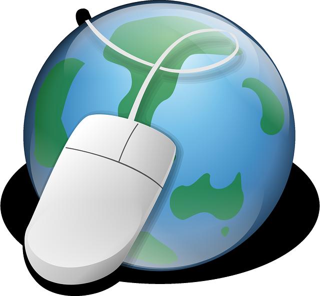 zeměkoule a myš
