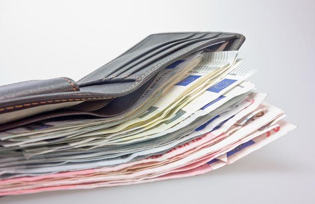 naplněná peněženka