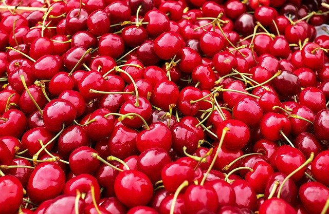 srdcové třešně