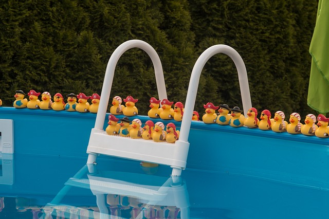 Nadzemní zahradní bazén